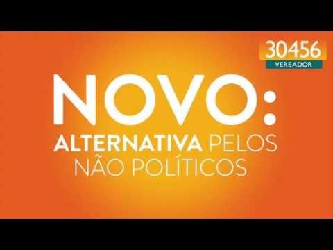 Novo: A alternativa pelos não políticos