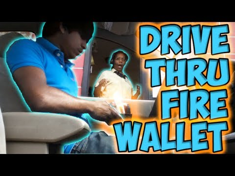 Drive Thru Fire Wallet