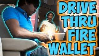 Drive Thru Fire Wallet