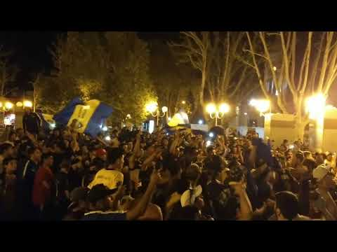 Hinchada de Boca Juniors!!!!, Festeja Superclasico.💙💛💙 - La 12 - Boca Juniors - Argentina - América del Sur