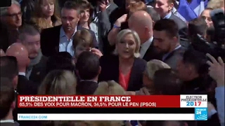 """Video Présidentielle 2017 en France : """"La défaite de Marine Le Pen est sévère !"""" MP3, 3GP, MP4, WEBM, AVI, FLV Mei 2017"""