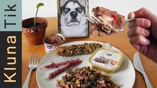 Eating ANIMAL FOOD!  Kluna Tik Dinner #93 | ASMR eating sounds no talk