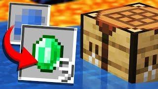 "Finding a HUGE Recipe ""GLITCH""... (Minecraft Recipe Randomizer Survival #3)"