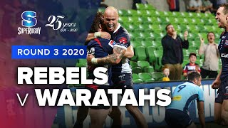 Rebels v Waratahs Rd.3 2020 Super rugby video highlights | Super Rugby Video Highlights