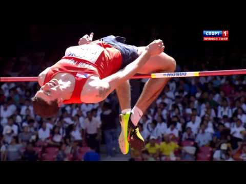 2.31 Jaroslav Baba HIGH JUMP WORLD CHAMIONSHIP Beijing 2015 qualification man