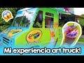MI Experiencia Art Truck Crayola! ☻ Lunes con Barbs!
