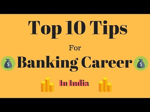 Top 10 Tips To Grow Your BANKING CAREER in India - Best Ever!