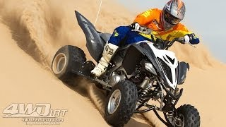 6. 2014 Yamaha Raptor 700R SE First Ride - 4WheelDirt