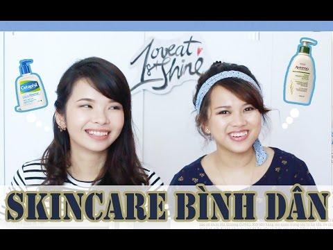 Chăm Sóc Da Bình Dân- Affordable Skincare   loveat1stshine