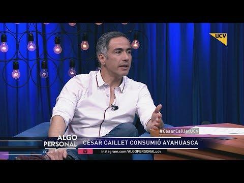 video César Caillet habla de su experiencia con la Ayahuasca y la medicina alternativa