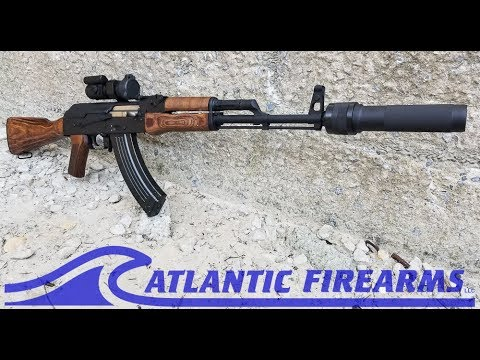 Video POLISH AK47 WBP POLSKA CG1 SERIES SUPPRESSED - DEAD AIR WOLVERINE PBS-1 - Atlantic Firearms download in MP3, 3GP, MP4, WEBM, AVI, FLV January 2017