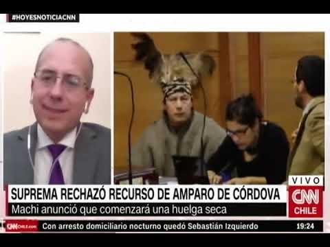 Defensor Regional de La Araucanía, Renato González, se refiere a la situación de Celestino Córdova luego de que la Corte Suprema rechazara recurso de amparo para que el machi pudiera visitar su rehue