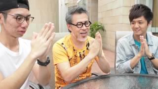 詹瑞文「叉輪住」,你地小心睇住黎呀! Jim Chim challenge! Mind your hand!