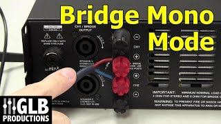 Video How to set up and connect a power amplifier in bridge mode MP3, 3GP, MP4, WEBM, AVI, FLV Desember 2018