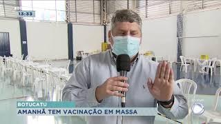 Botucatu se prepara para aplicação da segunda dose da vacinação em massa