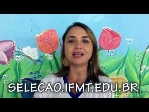 Vídeo de divulgação do Exame de Seleção 2017/1 - Cursos Superiores - Edital 71/2016 - Campus Alta Floresta