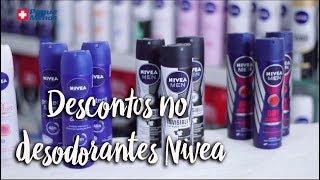 Oferta da Semana - Descontos nos desodorantes Nivea