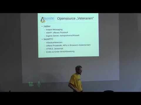 Echtzeit-Kommunikation mit Opensource (Videochat, Chat)