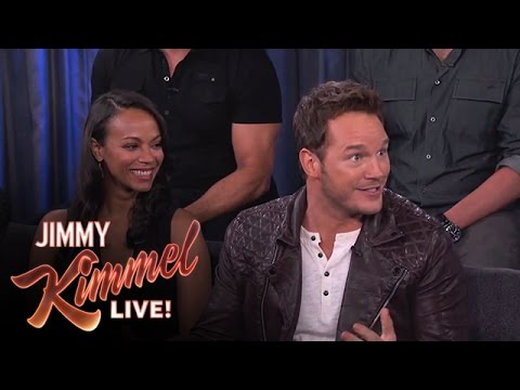 chris - Chris reveals how his enthusiasm while filming Guardians of the Galaxy got him into trouble. #GuardiansOfTheGalaxy See the cast in Guardians of the Galaxy! Go to http://marvel.com/guardians...