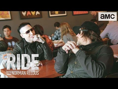 'Eating Hot Chicken w/ Marilyn Manson' Talked About Scene Ep. 306 | Ride with Norman Reedus