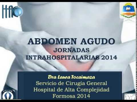 Abdomen Agudo - Dra Laura Tocaimaza