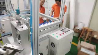 Rotary Face Mask Packaging Machine HY300-16A youtube video
