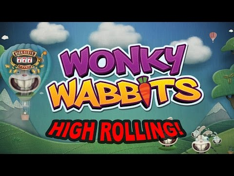 High Roll Attempt #1: Wonky Wabbits - £200 Start