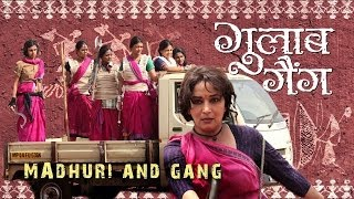 Nonton Madhuri And Gang   On The Sets Of Gulaab Gang   Releasing 7th March 2014 Film Subtitle Indonesia Streaming Movie Download