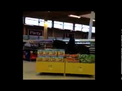 WATCH: Woman rides horse into grocery store