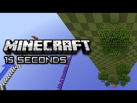 Minecraft: SUPER SPEED PARKOUR (Sethbling 15 Seconds Map)