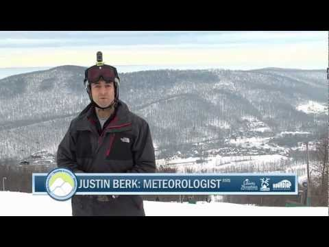 Justin Berk - Shredding Meteorologist Justin Berk visits Whitetail to bring you the upcoming forecast. Take a few runs with Justin and friends and check out the great cond...