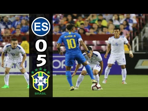 El Salvador [0] Vs. Brasil [5] Resumen C4/ESTV 1080p : 9.11.2018 : Amistoso/Friendly