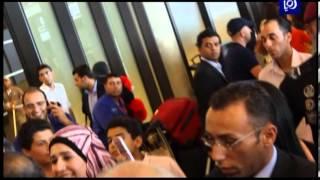 وصول  محمد عساف الى الاردن - محمد عساف