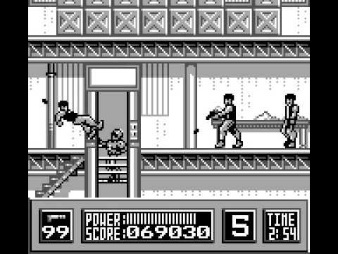 RoboCop Game Boy