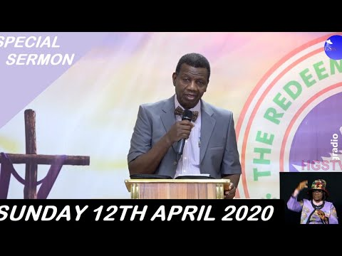 RCCG April 12th 2020 Easter Sunday Live Service with Pastor E. A. Adeboye