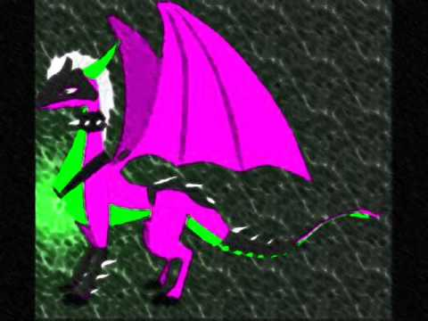 A tribute to purple dragons