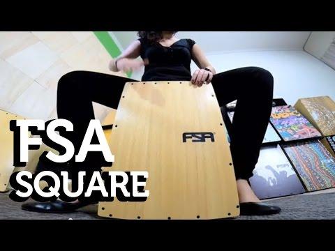 FSA Square Series - Teste (видео)