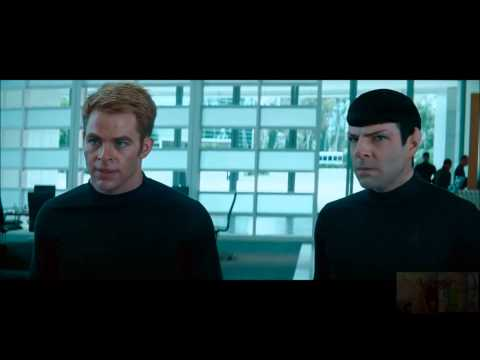 Star Trek Into Darkness - Aftermath of Khan's Gunship Attack