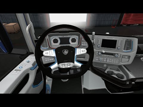 Interior for Scania 2016 v1.0