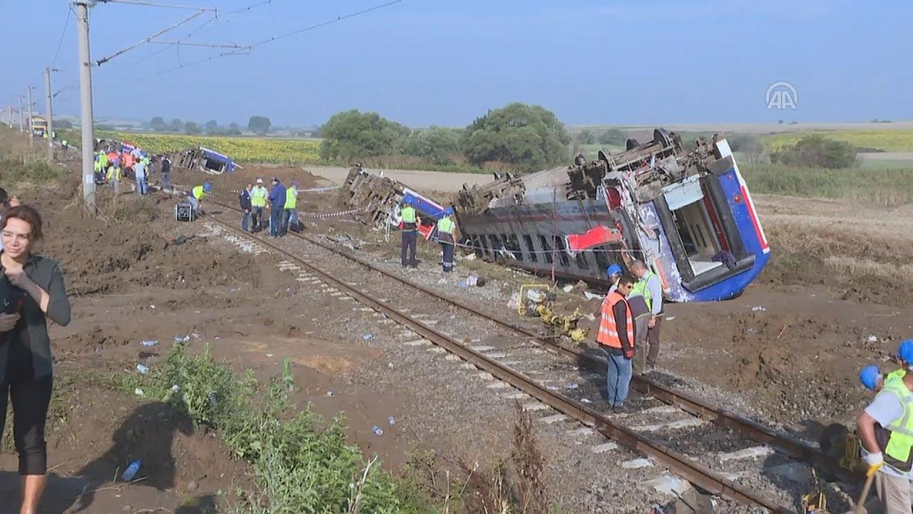Πολύνεκρο σιδηροδρομικό δυστύχημα στην Τουρκία