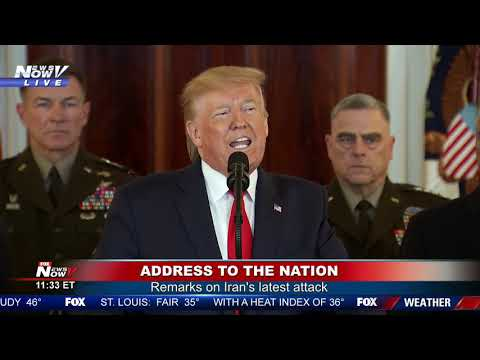 BREAKING: President Trump Address To The Nation