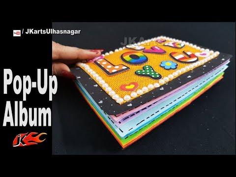 DIY Pop up Scrapbook Album   JK Arts 1346