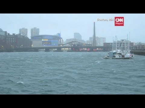 iReporters document Hurricane Sandy slamming East Coast
