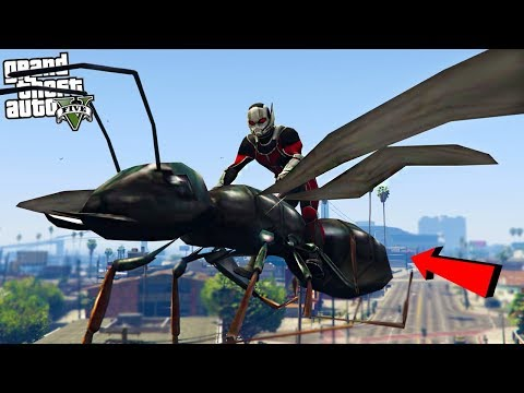 ANT MAN AND THE WASP - GTA 5 Mods