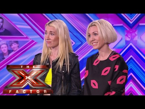 blonde - Visit the official site: http://itv.com/xfactor Hold on to your ear plugs - it's Blonde Electric. Jazzy, 24 and Ruby, 22 are sisters who just want to sing. And sing they did in their audition...