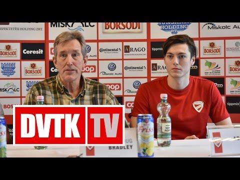 """""""Fegyelmezetten kell játszani""""   2016. december 1.   DVTK TV"""