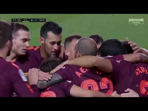Villarreal 0-2 Barcelona Highlights 11/12/2017