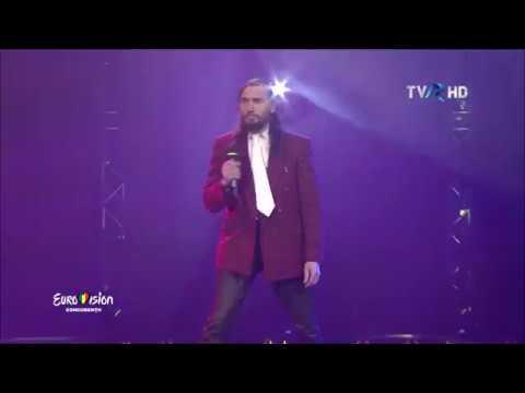 Tämän vuoden Euroviisuvoittaja tulee Romaniasta! Huikea Dorel Giurgiu