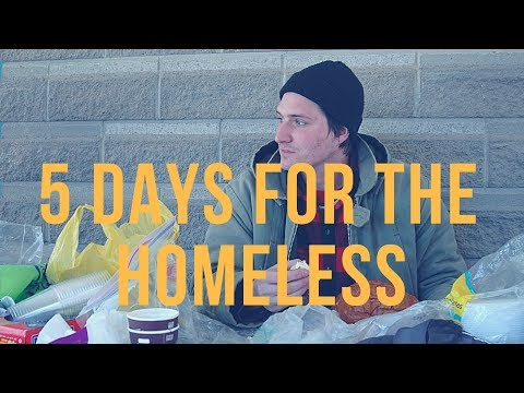 5 Days for the Homeless 2015 – Brock University