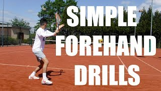 drop a like if you enjoyed :) This is a video of me and my coach from Top Tennis Training doing forehand drills to improve my consistency,spin and depth and to also increase the quickness in my racket take back!!!!http://www.instagram.com/thetennisdream/http://www.facebook.com/thetennisdream/